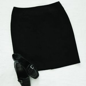 Plus Size Black Knee-length Pencil Skirt by Apt. 9